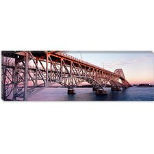 South Grand Island Bridge, Niagara River, New York State Canvas Wall Art