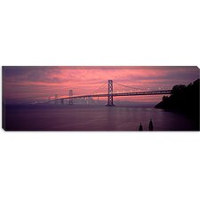 Bay Bridge, San Francisco, California Canvas Wall Art
