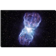 <strong>iCanvasArt</strong> Black Hole Blast Canvas Wall Art