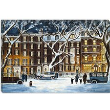 "<strong>iCanvasArt</strong> ""Beacon Street, Ma 1926"" Canvas Wall Art by Stanton Manolakas"