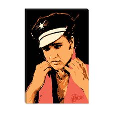<strong>iCanvasArt</strong> C.C. Rider (Elvis Presley) Canvas Wall Art