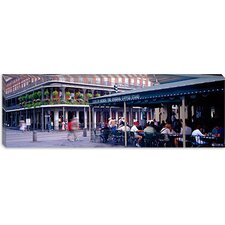 Cafe Du Monde French Quarter New Orleans Canvas Wall Art