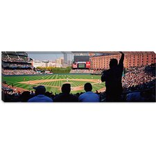 Camden Yards Baseball Game Baltimore Maryland Canvas Wall Art