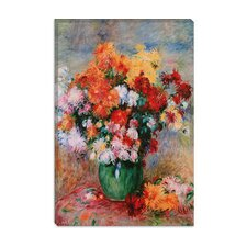 """Bouquet of Chrysanthemums, Circa 1884"" Canvas Wall Art by Auguste Renoir"