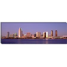 Panoramic Buildings in a City, San Diego, California Photographic Print on Canvas