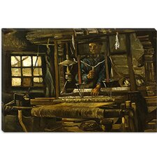 """A Weaver's Cottage"" Canvas Wall Art by Vincent van Gogh"