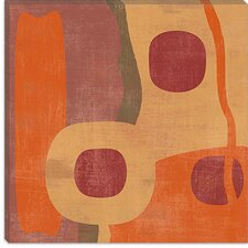 "<strong>iCanvasArt</strong> ""Abstract I"" Canvas Wall Art by Erin Clark"