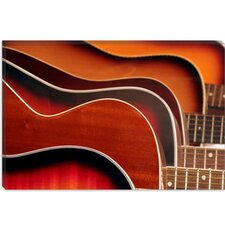 <strong>iCanvasArt</strong> Acoustic Guitar Canvas Wall Art