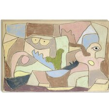 """Also True of Plants (Gilt Auch Fur Pflanzen) 1932"" Canvas Wall Art by Paul Klee"