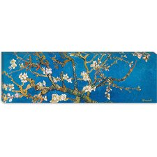 """Almond Blossom"" Canvas Wall Art by Vincent van Gogh (Panoramic)"