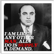 Al Capone Quote Canvas Wall Art