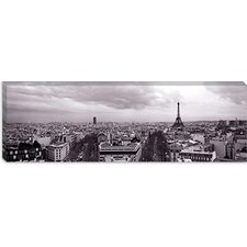 <strong>iCanvasArt</strong> Eiffel Tower, Paris, France Canvas Wall Art