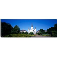 <strong>iCanvasArt</strong> Jackson Square, New Orleans, Louisiana Canvas Wall Art