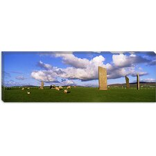 <strong>iCanvasArt</strong> Stones of Stenness, Orkney Islands, Scotland, United Kingdom Canvas Wall Art