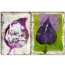 "<strong>iCanvasArt</strong> ""#2 Color Leaves"" Canvas Wall Art by Luz Graphics"