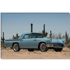 <strong>iCanvasArt</strong> 1957 Ford Thunderbird Canvas Wall Art