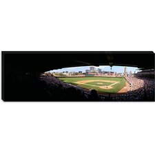 <strong>iCanvasArt</strong> Wrigley Field, Chicago, Illinois Canvas Wall Art