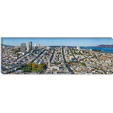 <strong>iCanvasArt</strong> Coit Tower, Telegraph Hill, San Francisco, California Canvas Wall Art