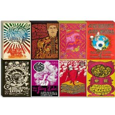 Jimi Hendrix, Bo Diddley, Pink Floyd, Grateful Dead, Jefferson Airplane, The Doors Concert Poster