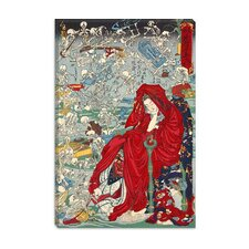 "<strong>iCanvasArt</strong> ""Jigoku Dayu (Hell Courtesan)"" Canvas Wall Art by Kawanabe Kyosai"