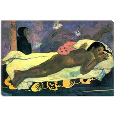 "<strong>iCanvasArt</strong> ""Girl in Bed"" Canvas Wall Art by Paul Gauguin"
