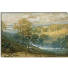 "<strong>iCanvasArt</strong> ""Gledhow Hall, Yorkshire"" Canvas Wall Art by Joseph William Turner"