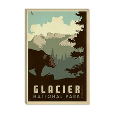 <strong>iCanvasArt</strong> Glacier National Park Canvas Wall Art