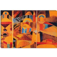 """Il Giardino Del Tempio"" Canvas Wall Art by Paul Klee"