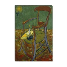"<strong>iCanvasArt</strong> ""Gauguin's Chair"" Canvas Wall Art by Vincent Van Gogh"
