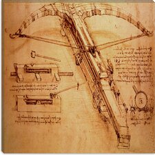 """Giant Catapult, Circa 1499"" Canvas Wall Art by Leonardo da Vinci"