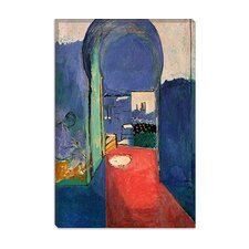 "<strong>iCanvasArt</strong> ""Entrance to the Kasbeh, 1912"" Canvas Wall Art by Henri Matisse"