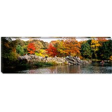 <strong>iCanvasArt</strong> Central Park, New York City Canvas Wall Art