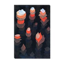 """Growth of the Night Plants"" Canvas Wall Art by Paul Klee"