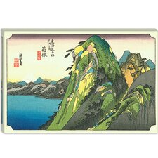 "<strong>iCanvasArt</strong> ""Hakone (Lake View)"" Canvas Wall Art by Utagawa Hiroshige l"