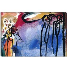 "<strong>iCanvasArt</strong> ""Improvisation 19 II"" Canvas Wall Art by Wassily Kandinsky Prints"