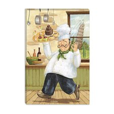 """Happy Chef II"" Canvas Wall Art by Daphne Brissonnet"
