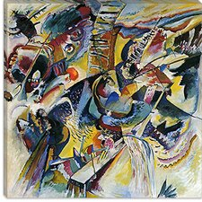 "<strong>iCanvasArt</strong> ""Improvisation Klamm"" Canvas Wall Art by Wassily Kandinsky Prints"