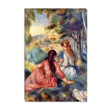 """In the Meadow"" Canvas Wall Art by Pierre-Auguste Renoir"