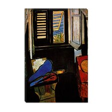 "<strong>iCanvasArt</strong> ""Interior with a Violin"" Canvas Wall Art by Henri Matisse"