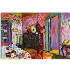 """Interior (My Dining Room)"" Canvas Wall Art by Wassily Kandinsky Prints"