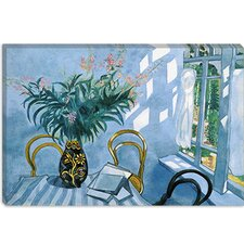 """Interior with Flowers, 1918"" Canvas Wall Art by Marc Chagall"