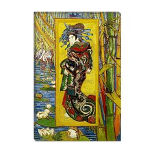 """Courtesan (after Eisen)"" Canvas Wall Art by Vincent van Gogh"
