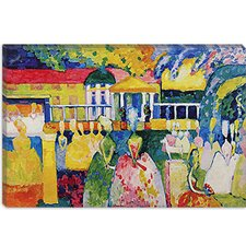 """Crinolines"" Canvas Wall Art by Wassily Kandinsky Prints"