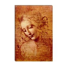 """Female Head"" Canvas Wall Art by Leonardo da Vinci"