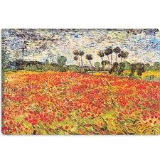 """Field of Poppies"" Canvas Wall Art by Vincent van Gogh"