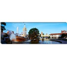 Country Club Plaza, Kansas City, Missouri Canvas Wall Art