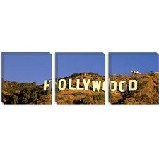 <strong>iCanvasArt</strong> Hollywood Sign, Los Angeles, California Canvas Wall Art