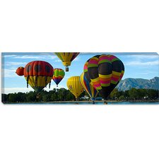 <strong>iCanvasArt</strong> Colorado Springs Air Baloon Competiton Canvas Wall Art