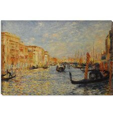 """Grand Canal Venice"" Canvas Wall Art by Auguste Renoir Aka Pierre-Auguste Renoir"