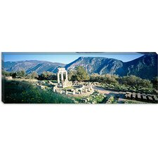 <strong>iCanvasArt</strong> The Tholos, Delphi, Greece Canvas Wall Art